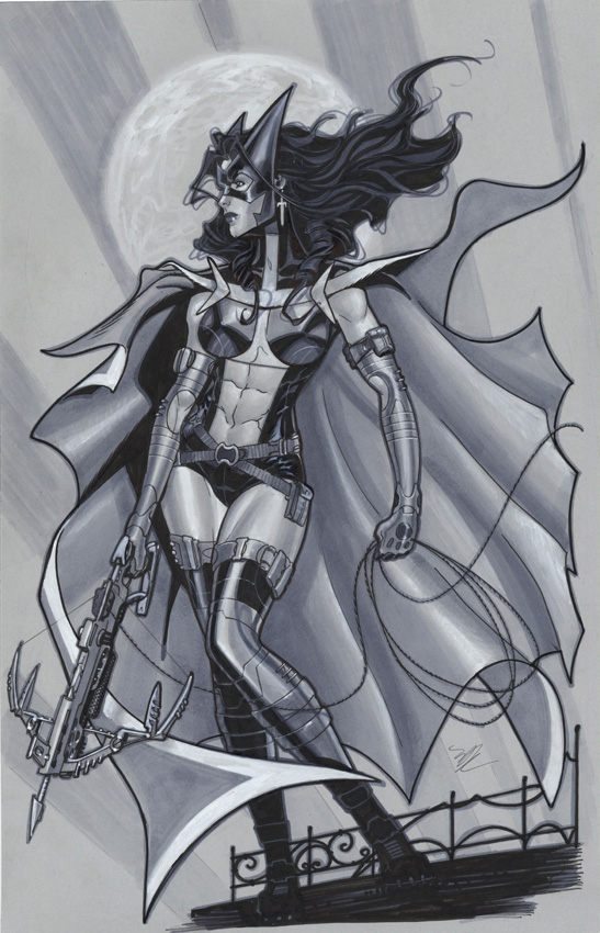 Huntress commish by MichaelDooney