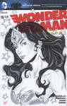 Wonder Woman bust variant cover