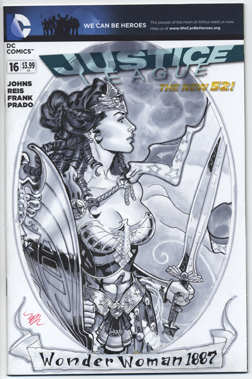 Wonderwoman 1887 cover SDCC 2013 by MichaelDooney