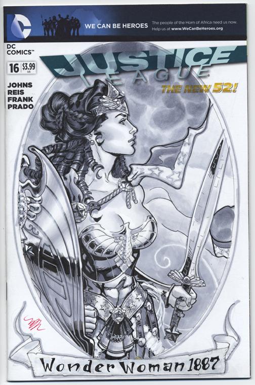 Wonderwoman 1887 cover SDCC 2013
