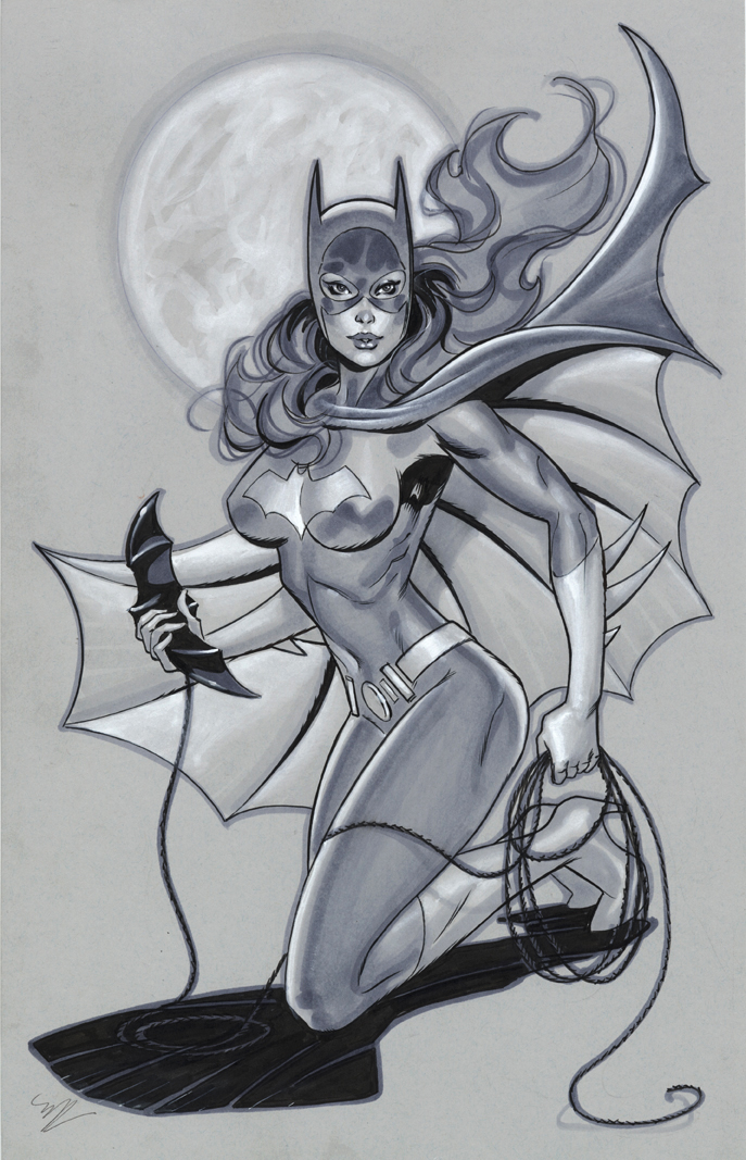 Batgirl by MichaelDooney