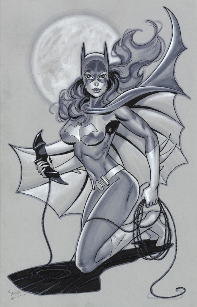 Batgirl by MichaelDooney
