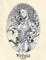 Classic Medusa 1887 by MichaelDooney