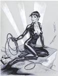 Catwoman pencils