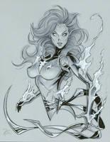 Jean Grey 3 Phoenix by MichaelDooney