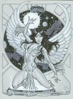 Dawnstar Legion of Superheroes by MichaelDooney