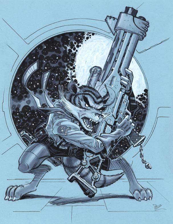 Rocket Raccoon by MichaelDooney
