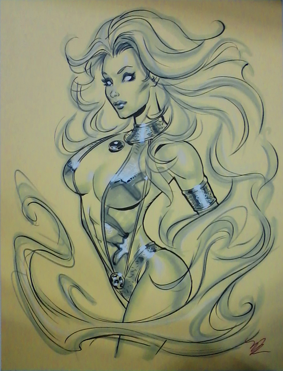 Starfire NYCC 2014 by MichaelDooney