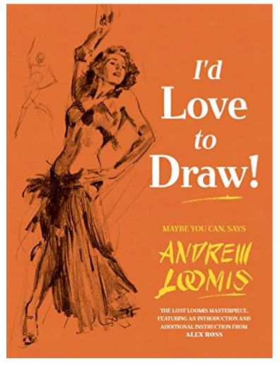 Andrew Loomis' new how to draw book by MichaelDooney