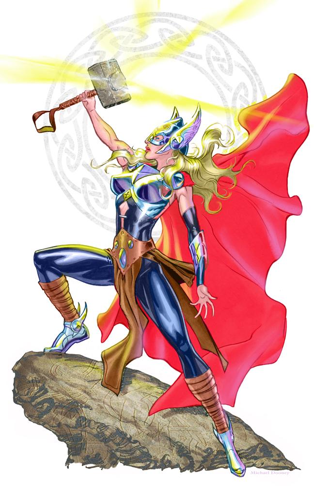 Lady Thor by MichaelDooney