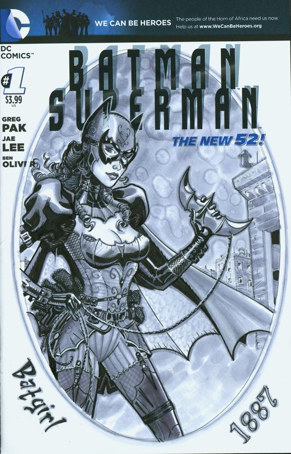 Batgirl 1887 cover C2E2 2015 by MichaelDooney