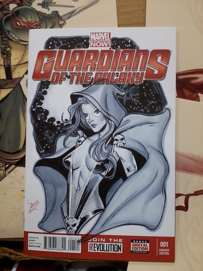 Gamora cover by MichaelDooney