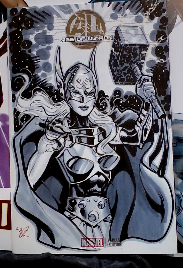 Thor from C2E2 2015 by MichaelDooney