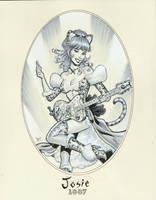 Josie 1887 by MichaelDooney