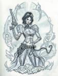 Lady Mechanika con sketch