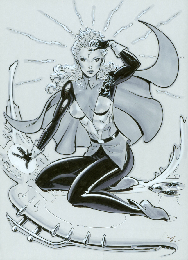 Mentalla Legion of Superheroes by MichaelDooney