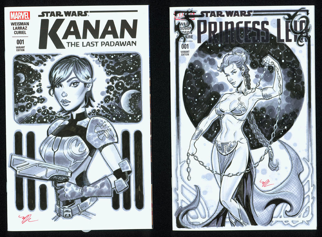 A couple of recent Star Wars Covers by MichaelDooney