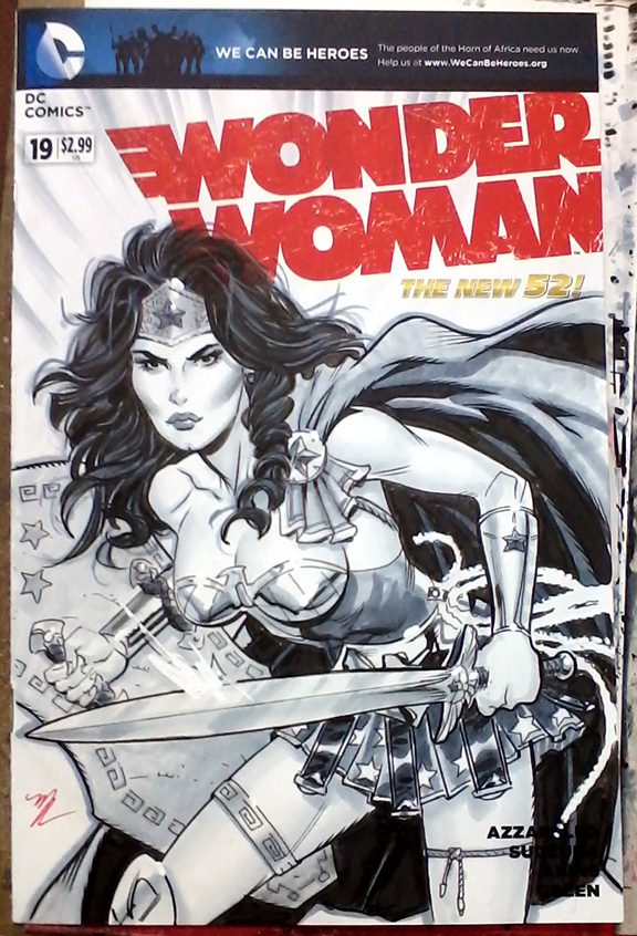 Wonder Woman cover SDCC 2015 by MichaelDooney