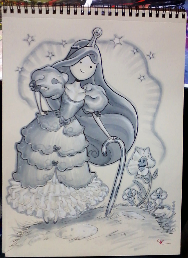 Princess Bubblegum SDCC 2015 by MichaelDooney