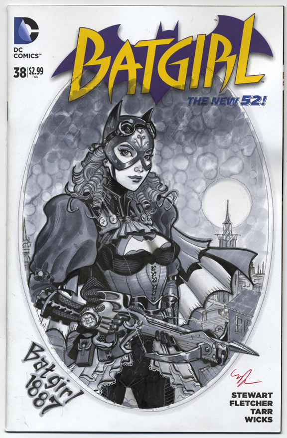 Batgirl 1887 by MichaelDooney