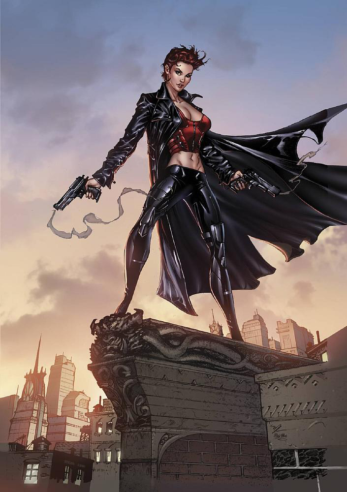 Zenescope cover by MichaelDooney