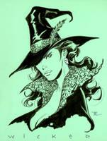 Wicked  Inktober by MichaelDooney