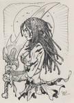 cavegirl inktober 2017 #10