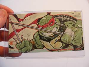 Raphael TMNT sketch card