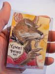 Master Splinter TMNT sketch card