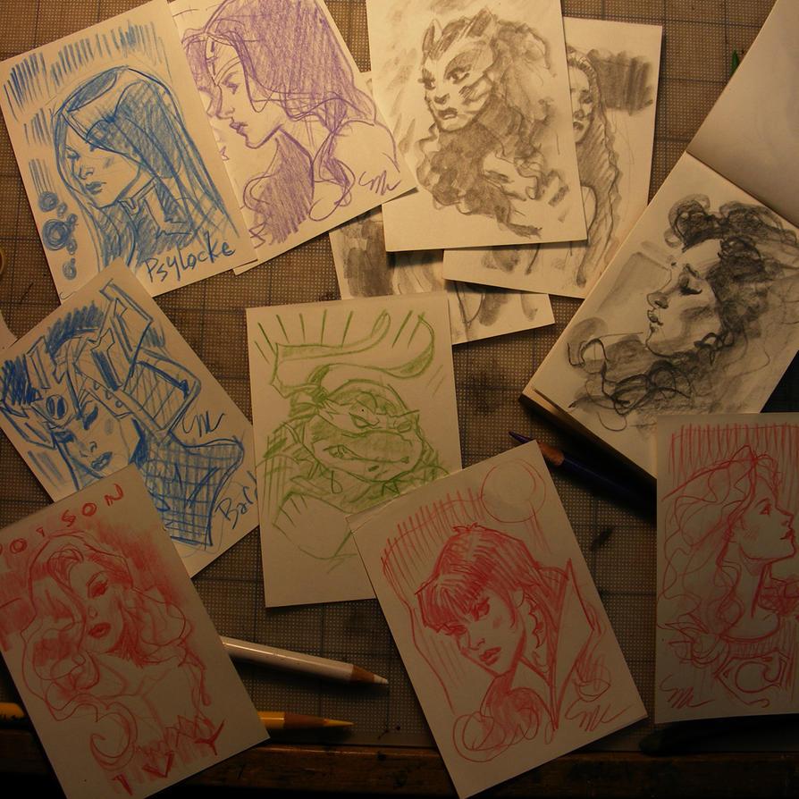 tiny sketches by MichaelDooney