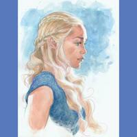 Daenerys watercolor