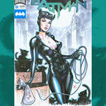 Catwoman commish cover