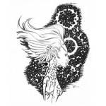 cosmic ink girl