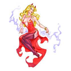 DEVIL GIRL by MichaelDooney
