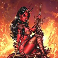 devil girl cover by MichaelDooney