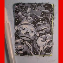 fugitoid tmnt sketchcard