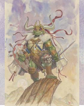 Barbarian Raph