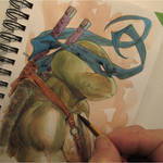 Leo watercolor