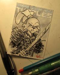 Usagi sketchcard