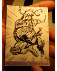 Mikey sketchcard
