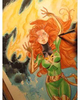 Jean watercolor