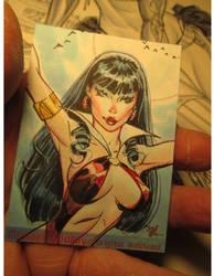 Vampy sketchcard