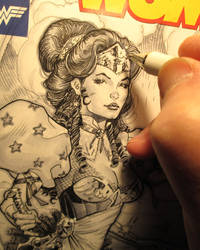 Wonder Woman 1887 in progress