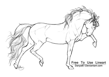 Free to Use Lineart PRE by Darya87