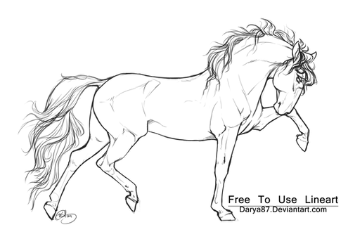 Free to Use Lineart PRE