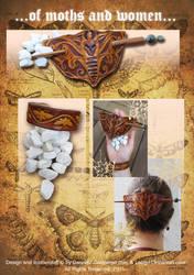 Moth Set Collaboration by Darya87