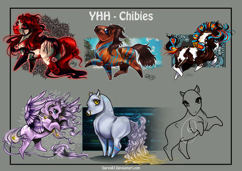 YHH - Chibis - CLOSED - Winners announced!