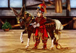Costumed Children Halter - Fairytale