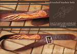 Leather Belt with Wing