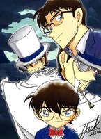 Detective Conan VS Kid by conan419